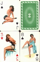 Erotic Pin-up playing cards Deck #61