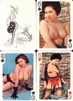 Erotic Pin-up playing cards Deck #74