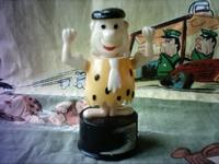 The Flintstones vintage push puppet Fred