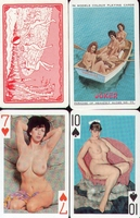 Erotic Pin-up playing cards Deck #77