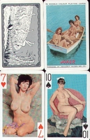 Erotic Pin-up playing cards Deck #79