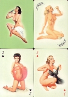 Erotic Pin-up playing cards Deck #03