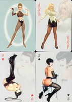 Erotic Pin-up playing cards Deck #09