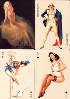 Erotic Pin-up playing cards Deck #18