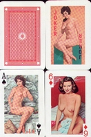 Erotic Pin-up playing cards Deck #19