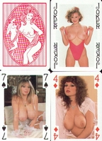 Erotic Pin-up playing cards Deck #86