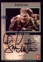Babylon5 Signed Zathras