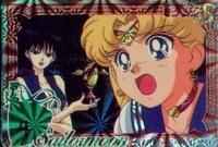 Sailormoon Carddass set card # 355 (prism)