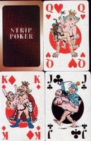 Erotic Pin-up playing cards Deck #94