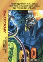 Apocalypse - genetic engineering