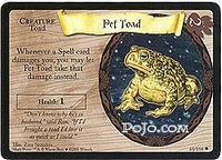 Base set - Pet Toad