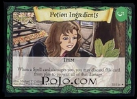 Base set - Potion Ingredients