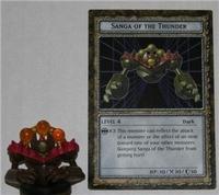 B4-03 SANGA OF THE THUNDER Yugioh DungeonDice Monster