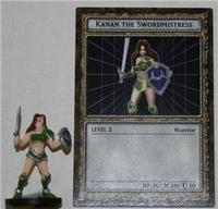 B4-08 KANAN THE SWORDMISTRESS Yugioh DungeonDice Monster