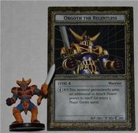 B3-02 ORGOTH THE RELENTLESS Yugioh DungeonDice Monster