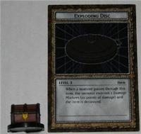 B3-06 EXPLODING DISC Yugioh DungeonDice Monster