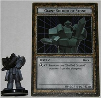 B3-10 GIANT SOLDIER OF STONE Yugioh DungeonDice Monster