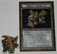 B3-11 CRAWLING DRAGON #1 Yugioh Dungeon Dice Monster