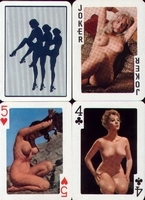 Erotic Pin-up playing cards Deck #97