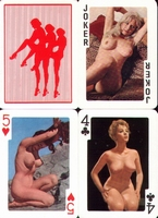 Erotic Pin-up playing cards Deck #98