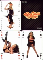 Erotic Pin-up playing cards Deck #01