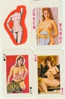 Erotic Pin-up playing cards Deck #04