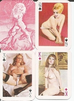 Erotic Pin-up playing cards Deck #10A
