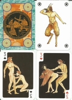 Erotic Pin-up playing cards Deck #13