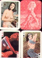 Erotic Pin-up playing cards Deck #72