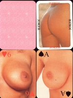 Erotic Pin-up playing cards Deck #73