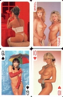 Erotic Pin-up playing cards Deck #23