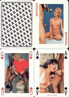 Erotic Pin-up playing cards Deck #24