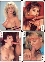 Erotic Pin-up playing cards Deck #29