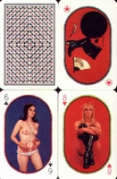 Erotic Pin-up playing cards Deck #31