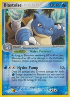 Pokemon Ex Crystal Guardians Blastoise (holo)