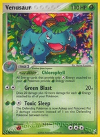Pokemon Ex Crystal Guardians Venusaur (holo)