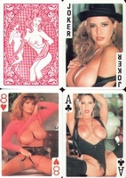Erotic Pin-up playing cards Deck #34