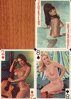 Erotic Pin-up playing cards Deck #36