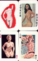 Erotic Pin-up playing cards Deck #45