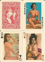 Erotic Pin-up playing cards Deck #48