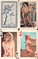 Erotic Pin-up playing cards Deck #50