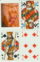 Erotic Pin-up playing cards Deck #53