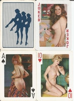 Erotic Pin-up playing cards Deck #56