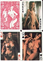 Erotic Pin-up playing cards Deck #57