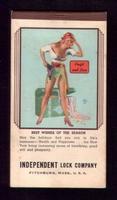 Vintage Pin-up calender Earl Moran #1