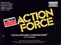 Atari 2006 - Action Man Action Force manual