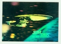 Star Trek 25th Anniversary Hologram Chase cards