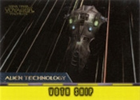Star Trek Voyager Profiles - Alien Technology Card AT2