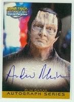 Autograph Card A8 Andrew Robinson