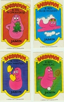Barbapapa - stickers Jamin
